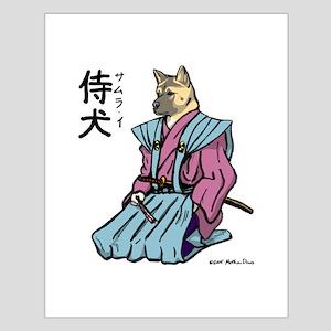 Samurai_shirt Posters