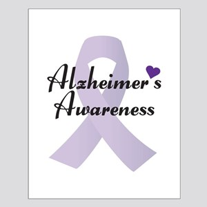 Alzheimers Awareness Ribbon Posters