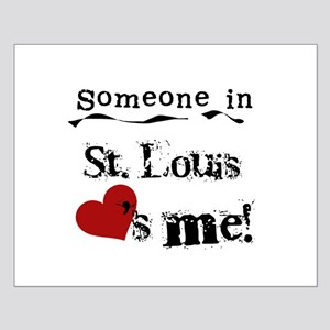 St. Louis Loves Me Small Poster