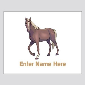 Personalized Horse Small Poster