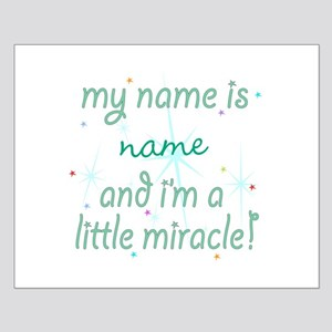 Custom Little Miracle Small Poster