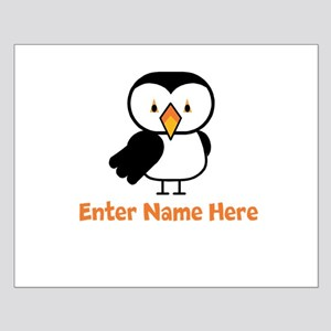 Personalized Puffin Small Poster