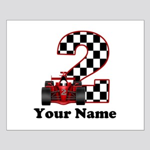 2nd Birthday Race Car Small Poster