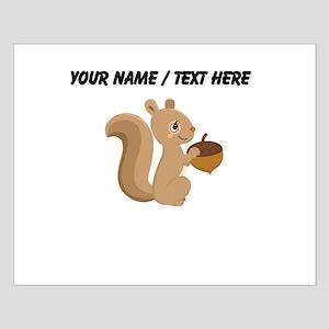 Custom Cartoon Squirrel Posters