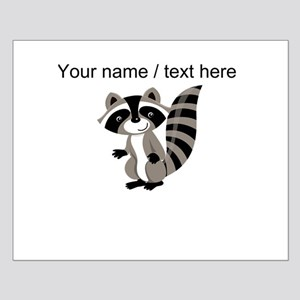 Custom Cartton Raccoon Posters