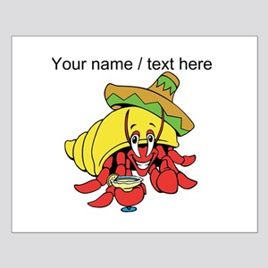 Custom Mexican Hermit Crab Posters