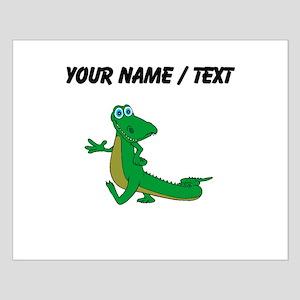 Custom Cartoon Alligator Posters