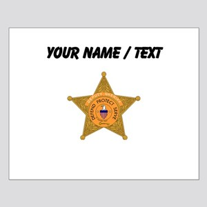 Deputy Sheriff Badge (Custom) Posters