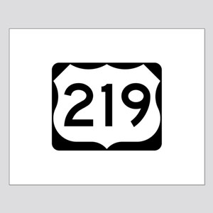 US Route 219 Small Poster