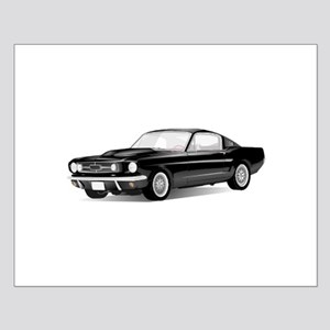 Mustang Fastback Small Poster