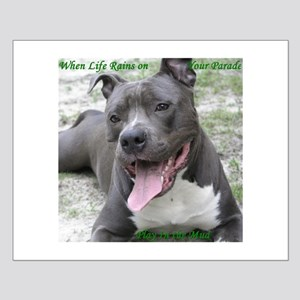 Smile With APBT Style Small Poster