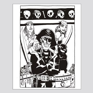 Trader Jack's Pirate Small Poster