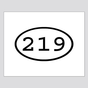 219 Oval Small Poster