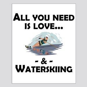 Love And Waterskiing Posters