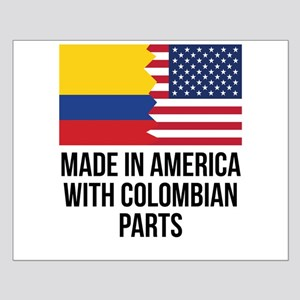 Made In America With Colombian Parts Posters