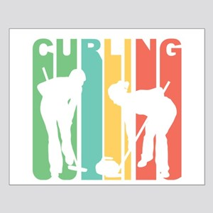 Retro Curling Posters