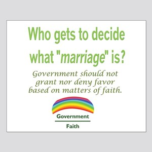 Marriage - Who Decides Small Poster