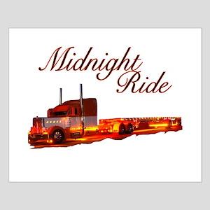 Midnight Ride Small Poster