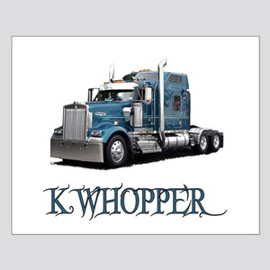 K Whopper Small Poster