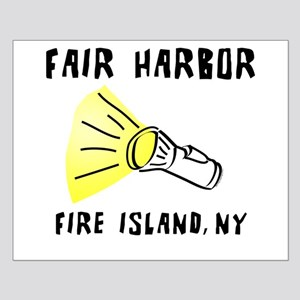 Fair Harbor Fire Island Small Poster