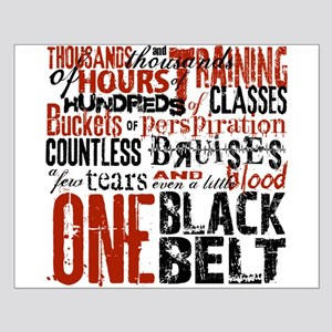 ONE BLACK BELT Small Poster
