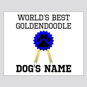 Worlds Best Goldendoodle (Custom) Posters