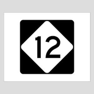 Highway 12, North Carolina Small Poster