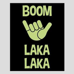 Boom Shaka Wave Small Poster