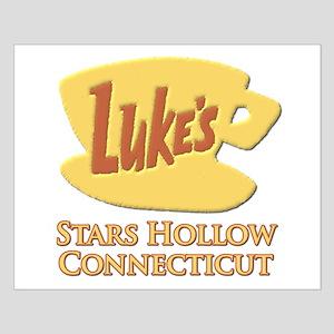 Luke's Diner Stars Hollow Gilmore Girls Small Post