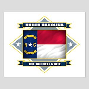 North Carolina Flag Small Poster