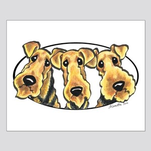 Airedale Terrier Lover Small Poster