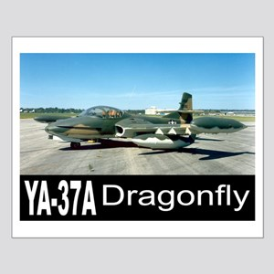A-37 Dragonfly Small Poster