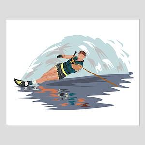 Water Skiing Poster Design