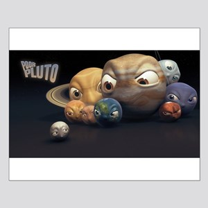 """""""Poor Pluto"""" Poster (small)"""