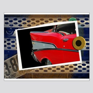 57 Chevy Bel Air Small Poster