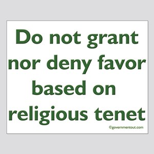 Tenet Small Poster