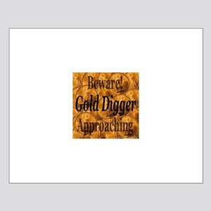 Gold Digger Approaching Small Poster
