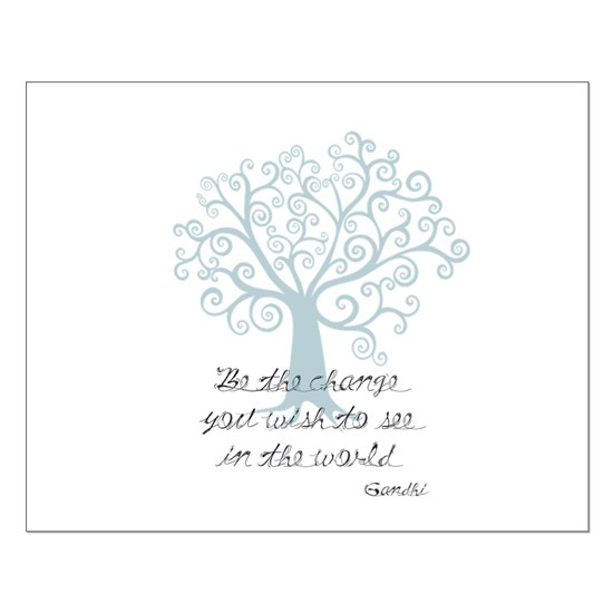 Be the Change Tree