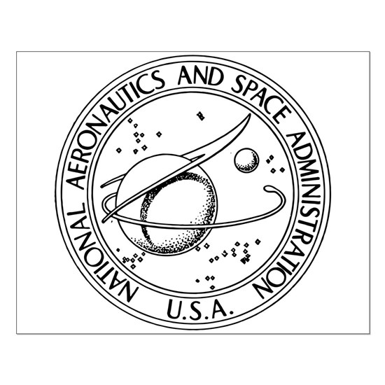 NASA Seal bw