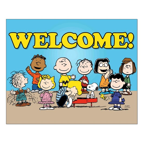 Peanuts Gang-Welcome