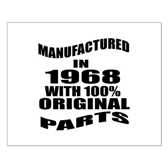 Manufactured In 1968