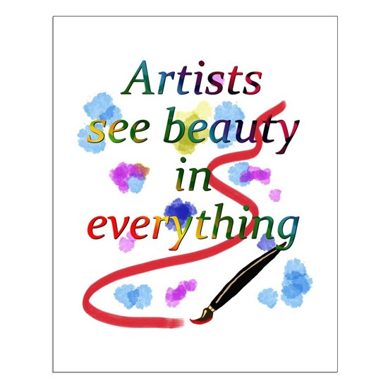 Artists See Beauty