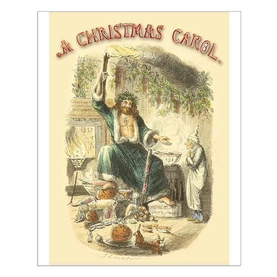 Ghost Of Christmas Present.Vintage Scrooge Ghost Of Christmas Present Posters