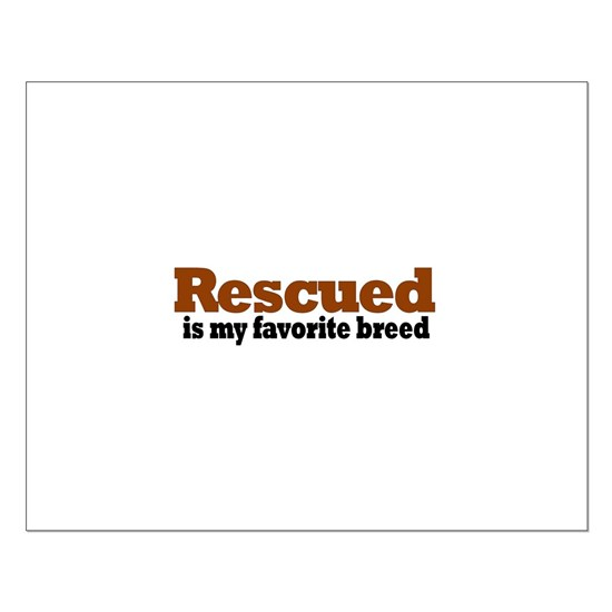 rescued breed