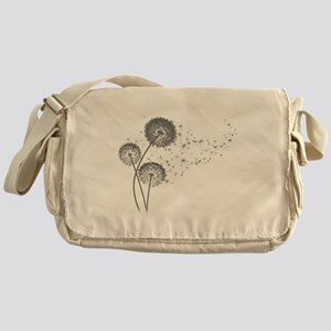 Dandelion Wishes Messenger Bag