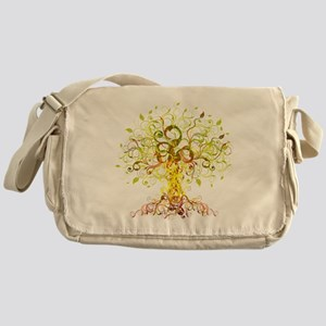 Tree Art Messenger Bag