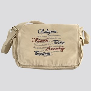 1st Amendment Messenger Bag