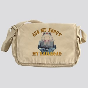 Union Pacific Railroad Messenger Bags - CafePress