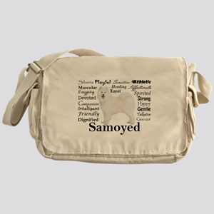 Samoyed Traits Messenger Bag