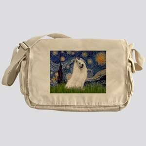 Starry / Samoyed Messenger Bag